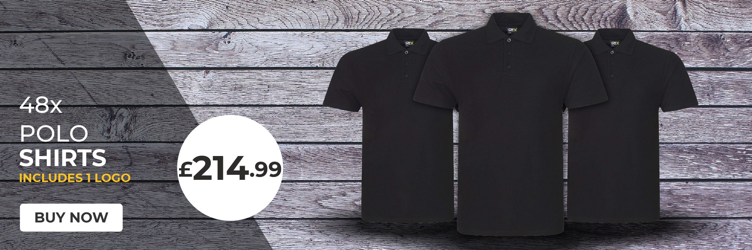 48 x Polo Shirts JUST £214.99